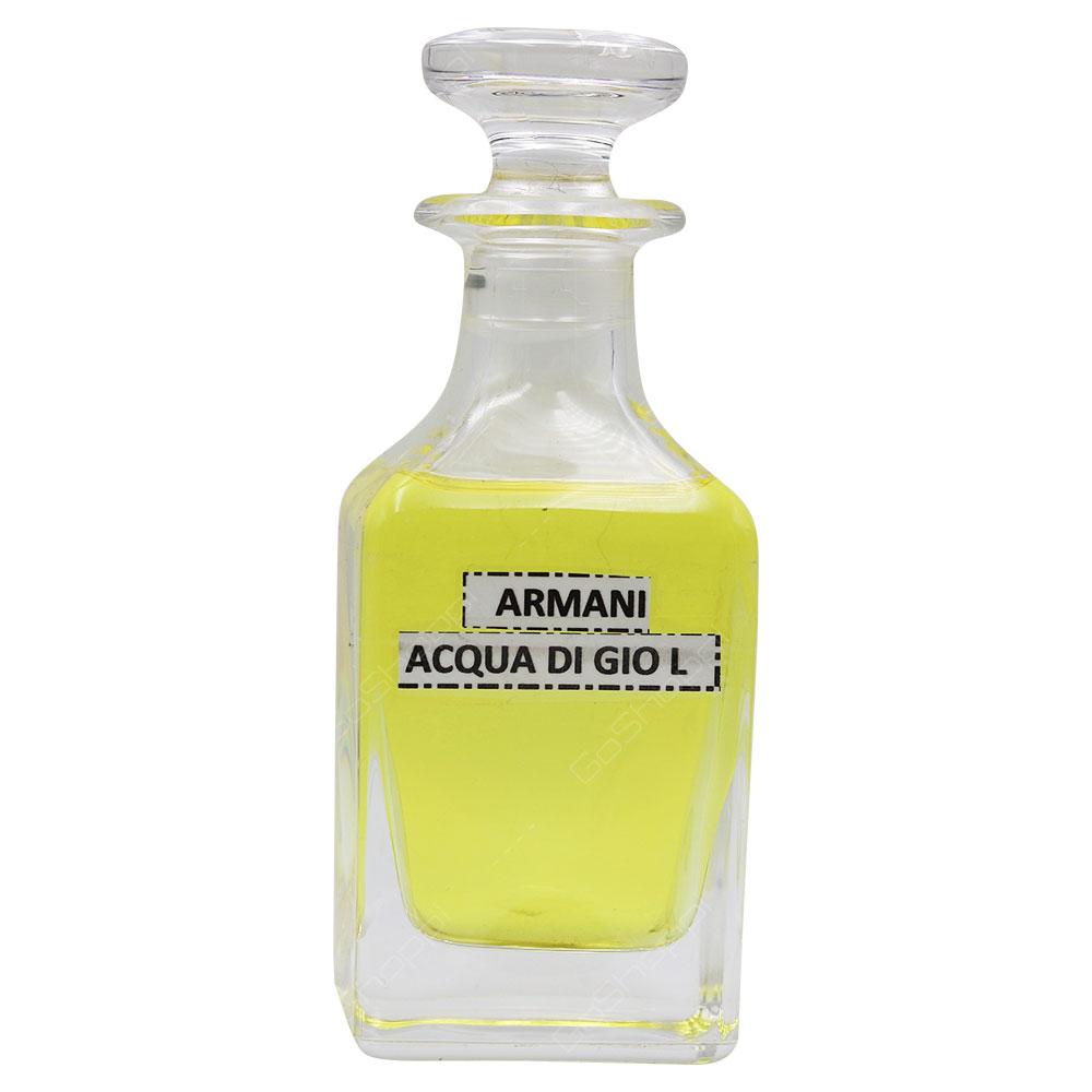 Concentrated Oil - Inspired By Armani Acqua Di Gio For Women
