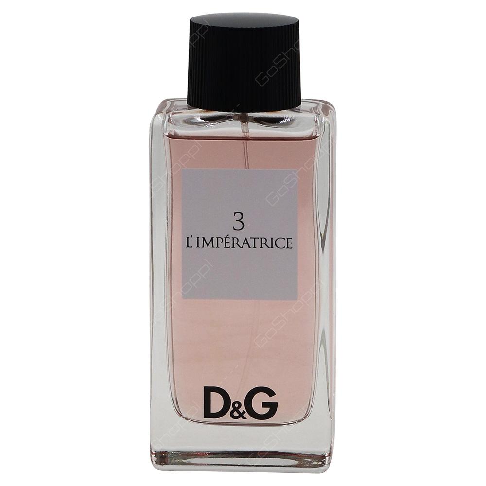 Dolce & Gabbana 3 L Imperatrice Pour Femme Eau De Parfum 100ml
