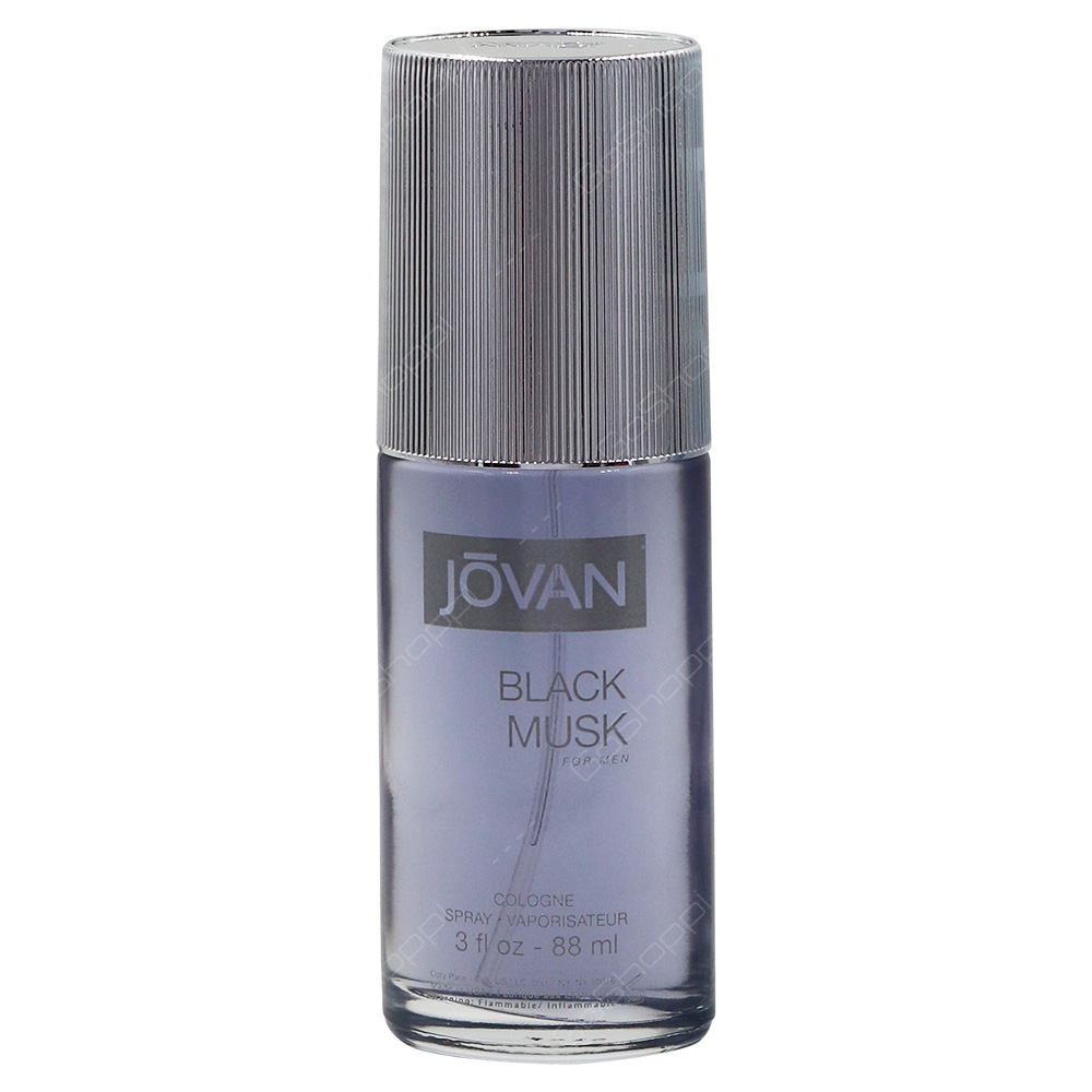 Jovan Black Musk Colonge Spray For Men 88ml