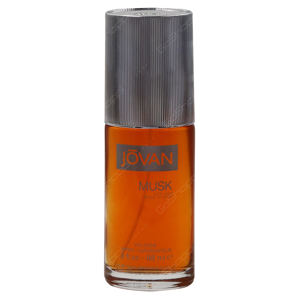 Jovan Musk Colonge Spray For Men 88ml