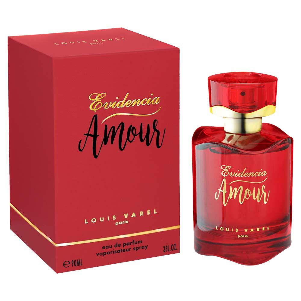 Louis Varel Paris Evidencia Amour For Women Eau De Parfum 90ml