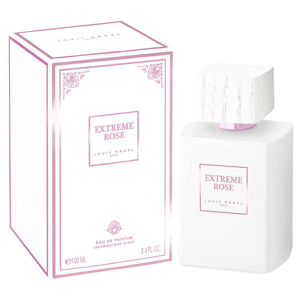 Louis Varel Paris Extreme Rose For Unisex Eau De Parfum 100ml