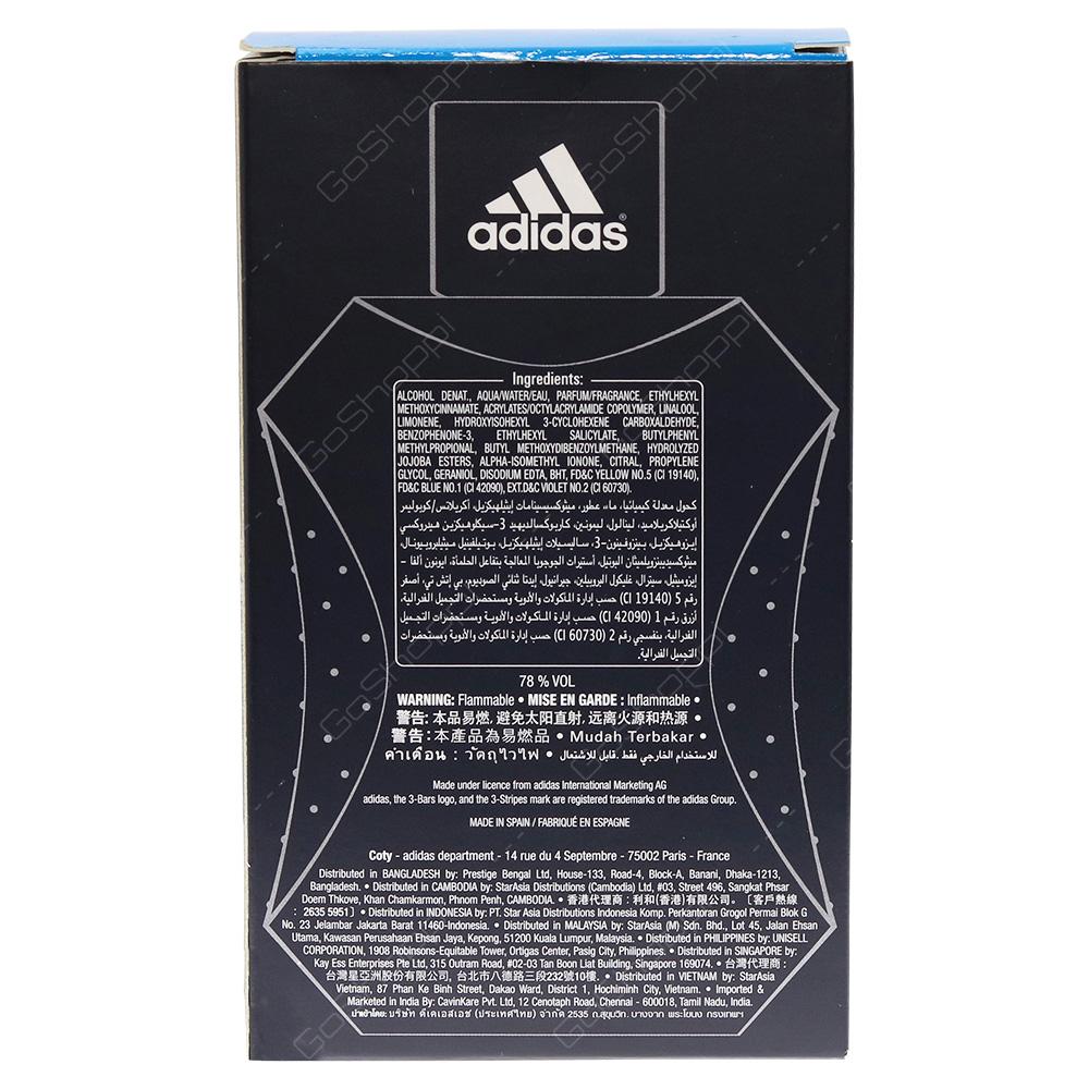 Adidas Fresh Impact Eau De Toilette 100ml