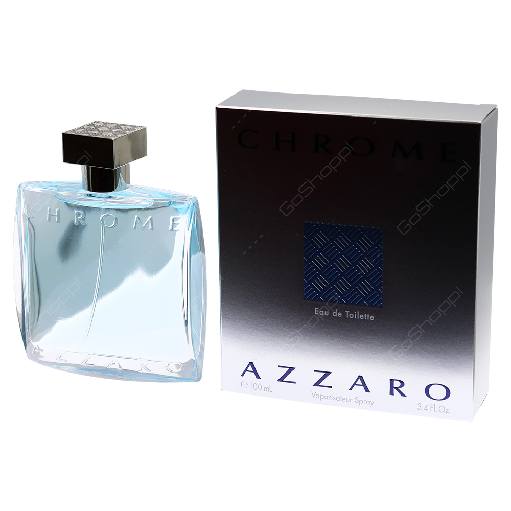 Azzaro Chrome For Men Eau De Toilette 100ml