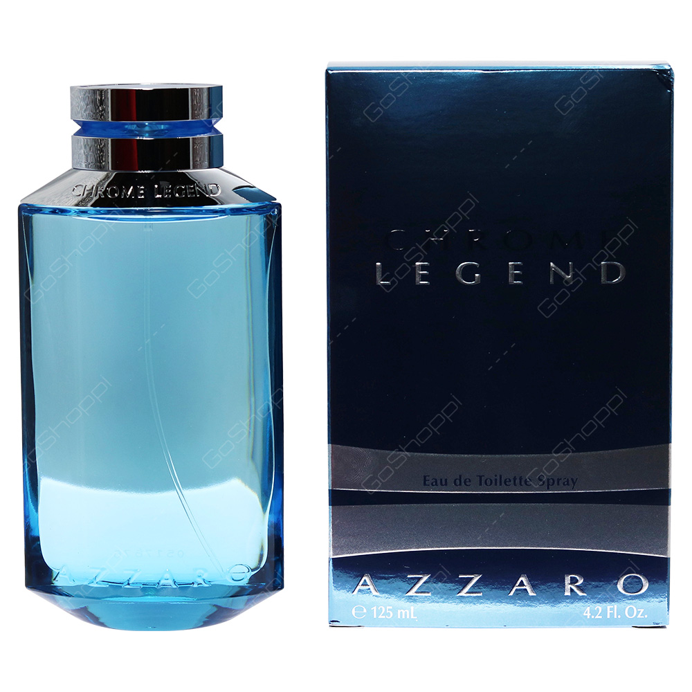 Azzaro Chrome Legend For Men Eau De Toilette 125ml