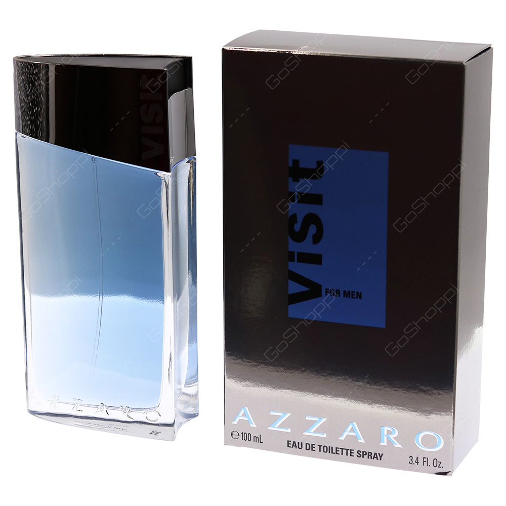 Azzaro Visit For Men Eau De Toilette 100ml