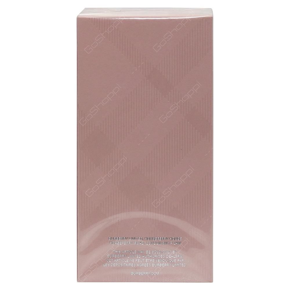 Burberry Brit Sheer For Her Eau De Toilette 100ml