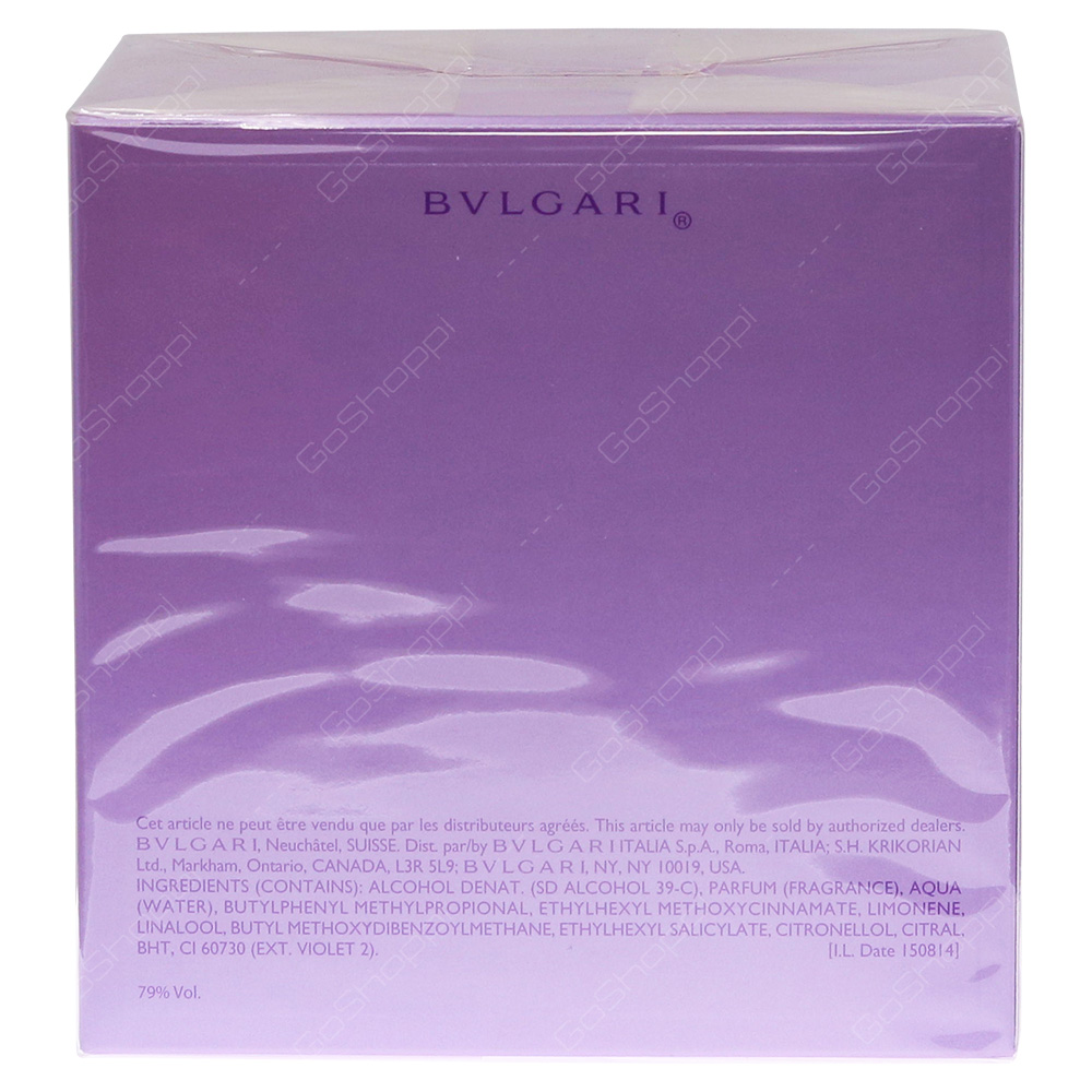Bvlgari Omnia Amethyste For Women Eau De Toilette 65ml