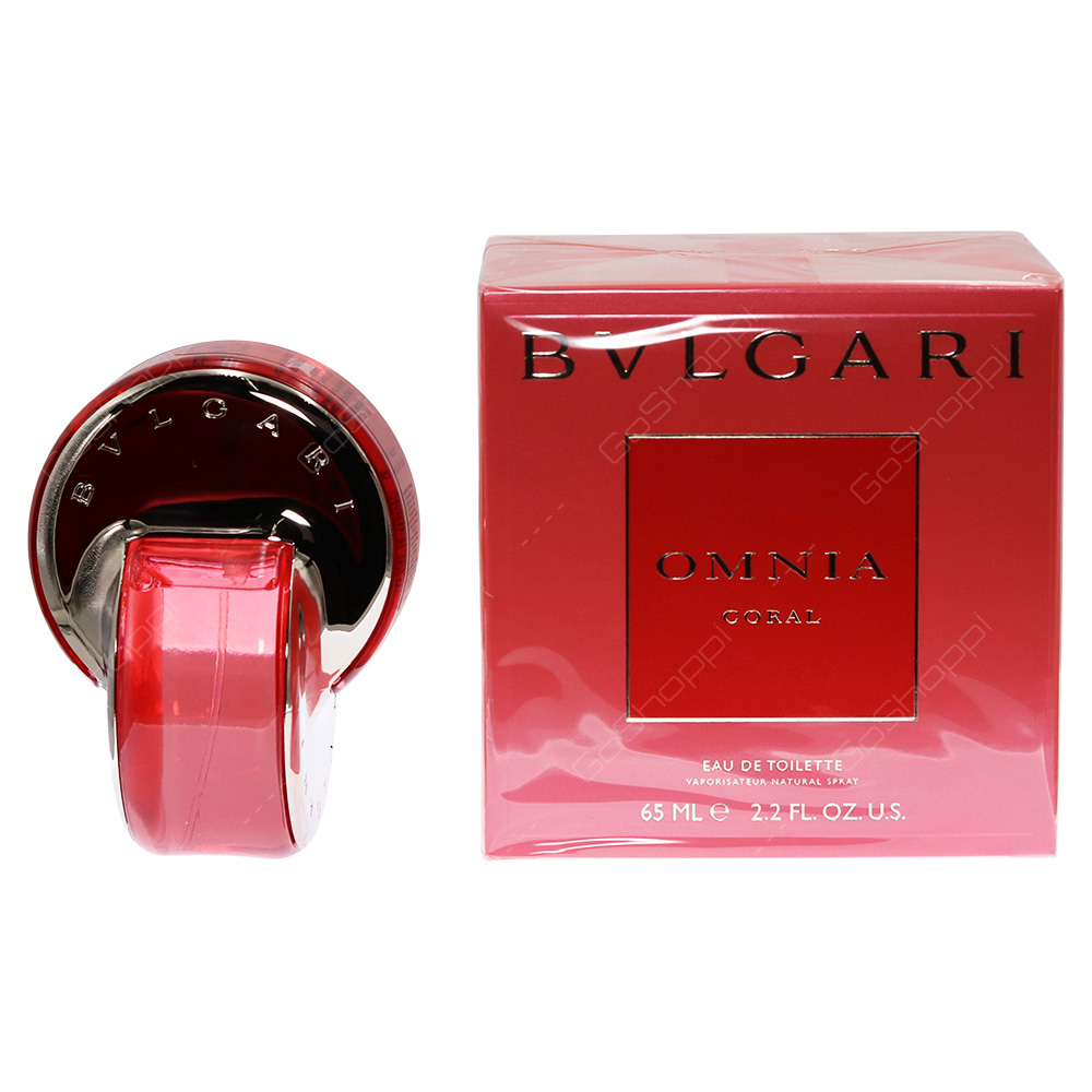 Bvlgari Omnia Coral For Women Eau De Toilette 65ml