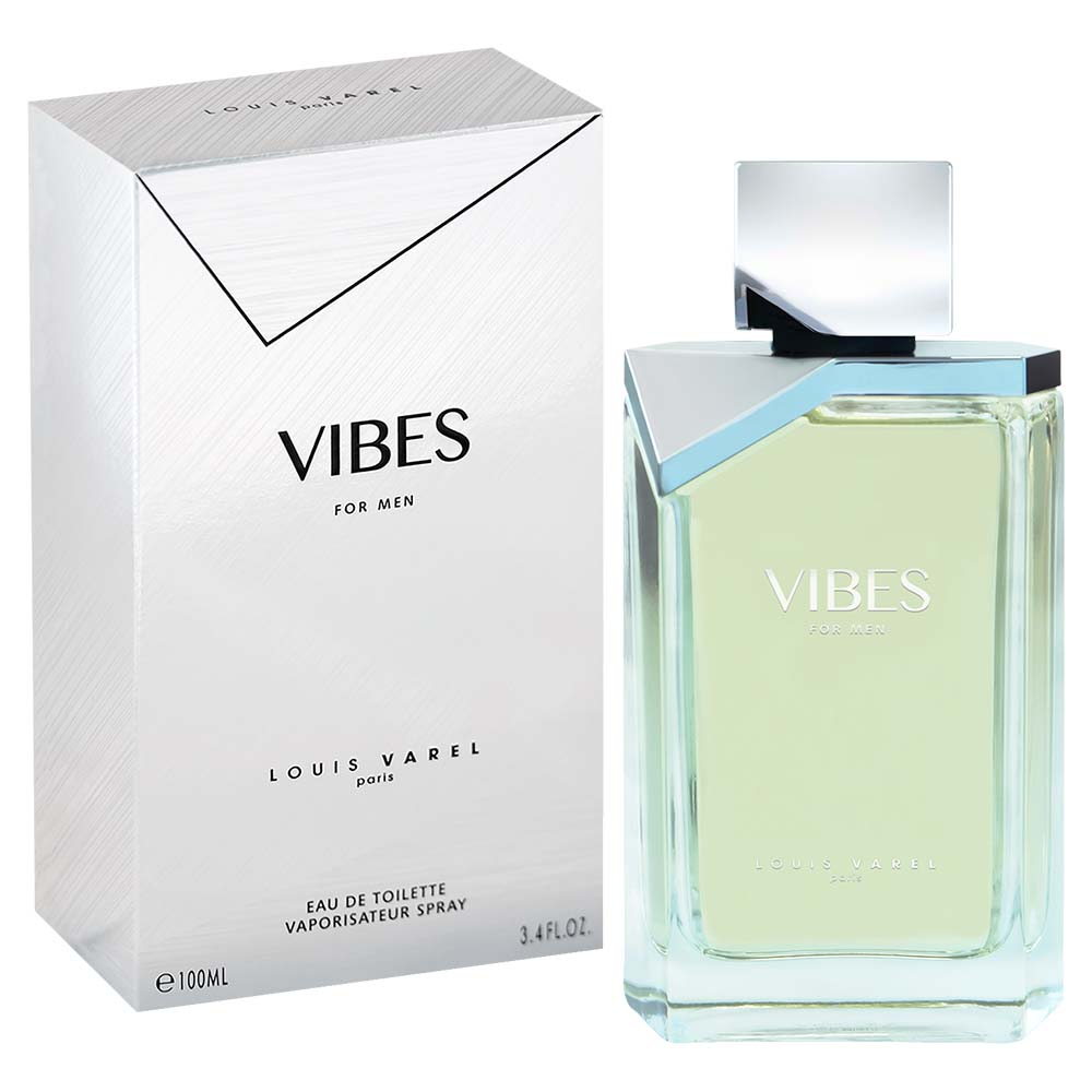 Louis Varel Paris Vibes For Men Eau De Toilette 100ml