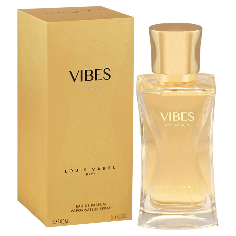 Louis Varel Paris Vibes For Women Eau De Parfum 100ml