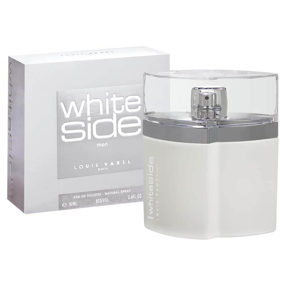 Louis Varel Paris White Side For Men Eau De Toilette 90ml