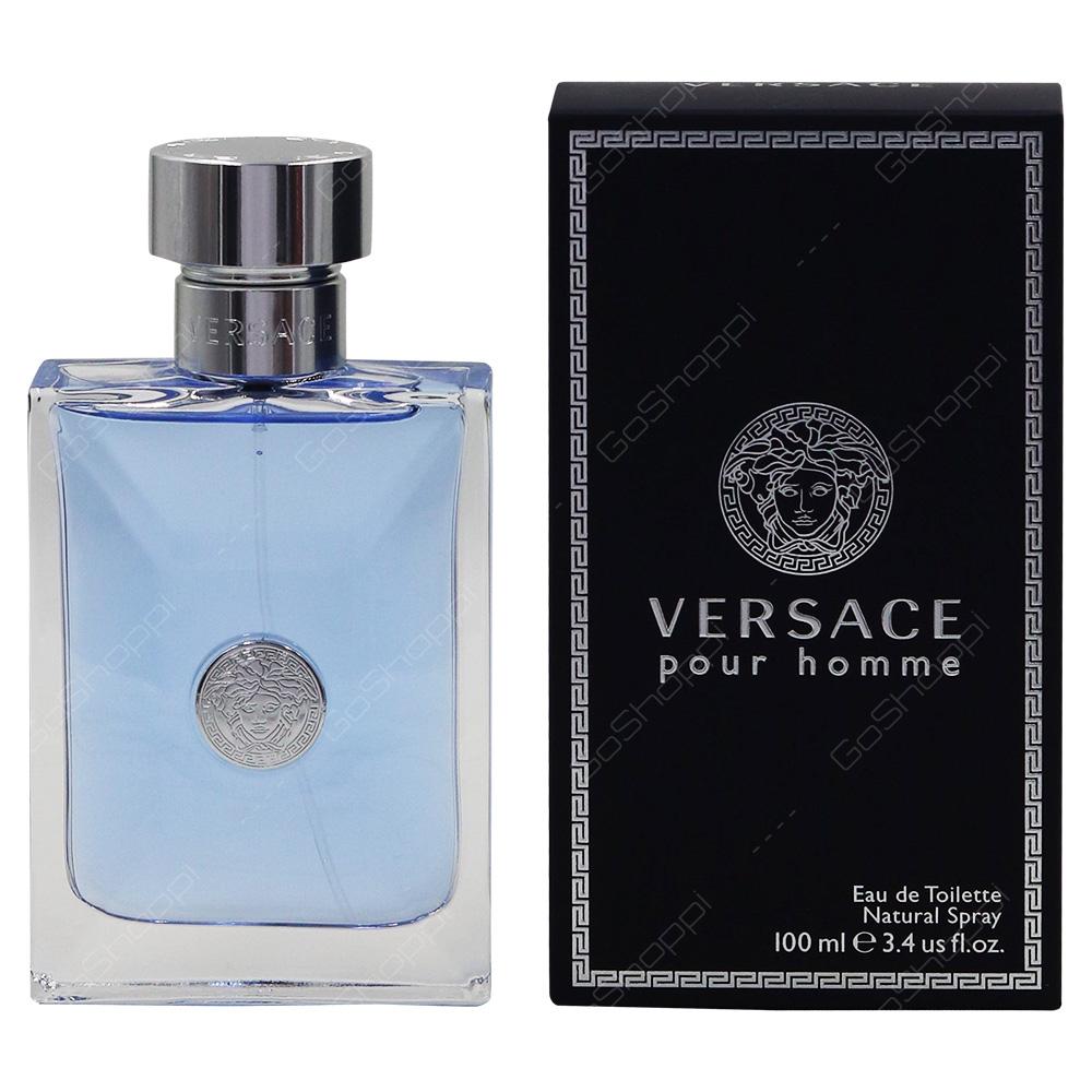 Versace Pour Homme Eau De Toillete 100ml